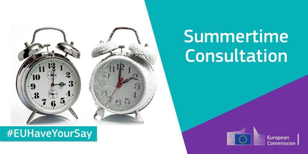 Consultation heure d'été - UE